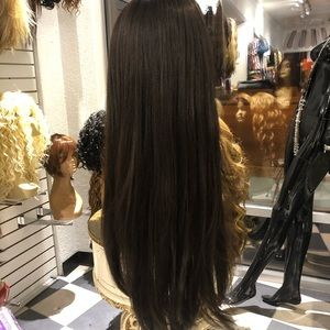 Accessories - Wig OMG IM PRUUUTY Brown highlights layers Lacewig